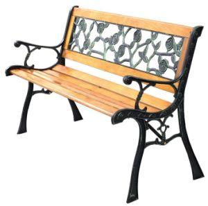 Astonishing China Big Rose Cast Iron And Wood Garden Bench Iron Bench Uwap Interior Chair Design Uwaporg