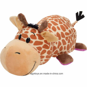 "16"" Animal Plush Pillow with 2 Sides of Fun pictures & photos"