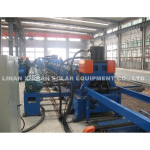 Galvanized Steel Highway Guardrail Roll Forming Machine pictures & photos