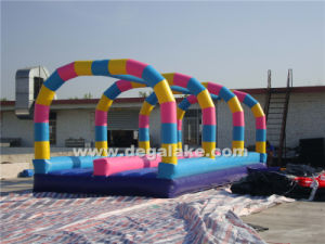 "Beautiful Colorful Inflatable Slip ""N"" Slide for Water Slide"