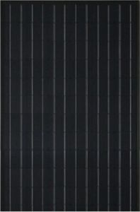190W Polycrystalline Black Solar Panel pictures & photos