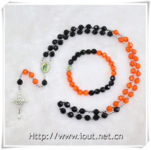 Wholesale Necklace Rosary by Whole Set Plastic Beads Rosary (IO-crs010) pictures & photos