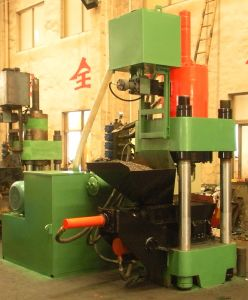 Aluminum Scrap Hydraulic Briquetting Press Metal Scrap Briquette Machine-- (SBJ-315) pictures & photos