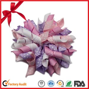 Printed Curling Bows for Making Curling Ribbon Flower Bows pictures & photos