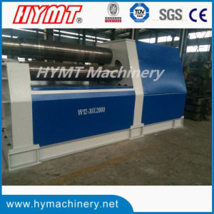 W12S-12X2500 type 4-roller Universal Hydraulic Plate Bending and Rolling Machine pictures & photos