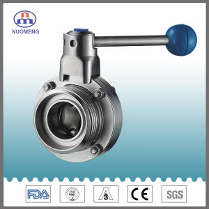 Stainless Steel Manual Threaded Butterfly Valve (DIN-No. RD1309) pictures & photos