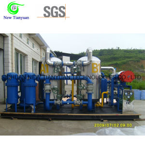 CNG Natural Gas 4A Molecular Sieve Large Dehydration Unit