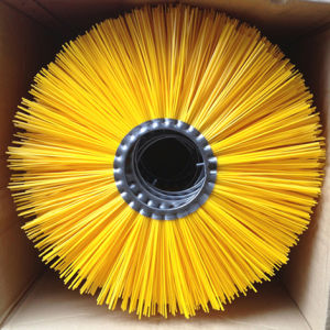 PP Material Yellow Mixture Road Sweeper Brush (YY-024) pictures & photos