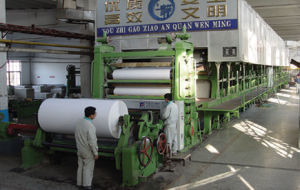 3200mm Fourdrinier and Multi-Cylinder Cultural Paper Making Machine pictures & photos