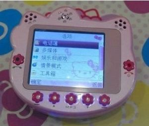 Kids Cartoon Mobile Phone Cute Hello Kitty (C90)