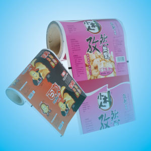 Puffed Snack Food Packaging Roll Film pictures & photos