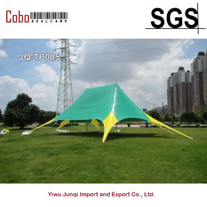 High Quality Green Star Shaped Tent Outdoor Luxury