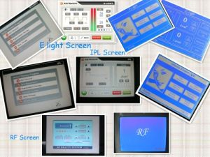 Spare Parts (LCD touch screen, power supply) of IPL, E Light, RF Machines