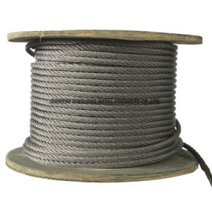 Stainless Steel Wire Rope (7x19-2.38) pictures & photos