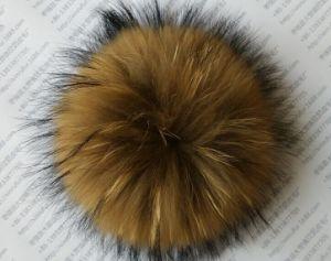 8523d156fa8d5 China Real Raccoon Fur POM Poms   Balls for Hat - China POM Poms ...