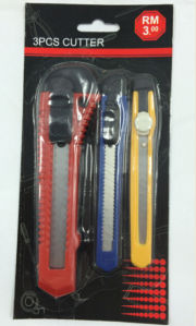 3 PCS Knife Set/ Cutter Tools