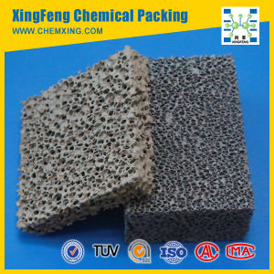 Silicon Carbide Foam Ceramic Filter for Iron or Iron Alloy Casting pictures & photos