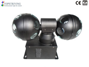 China Hot Sale 4 9w Rgh 3 In 1 Dmx Led Double Ball Light Led