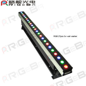 DMX 9CH RGB 24PCS LED Stage Wall Washer pictures & photos