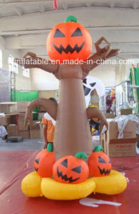 New Design! Halloween Decoration Black Inflatable Tree
