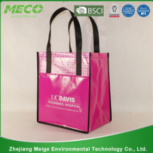 China High Standard Production Durable PP Woven Promotion Shopping Bag (MECO179) pictures & photos