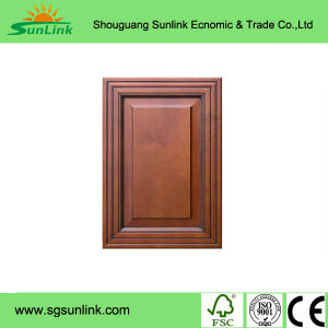PVC Laminate Kitchen Cabinet Door (zc-079) pictures & photos