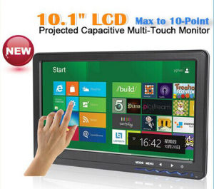 "16: 9 10.1""VGA Touch Screen, Capacitive Multi Touch Max to 10 Points pictures & photos"