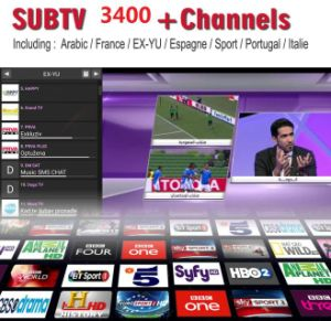 Activate Code Subtv Apk 1 Years IPTV TV Channel for All Over The World  Including Arabic French Africa UK Italy Germany Spain Netherland Portugal  Box
