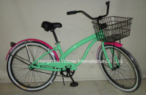 26′′ Ladys Alloy Beach Cruiser Bike pictures & photos