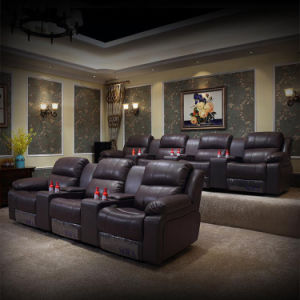 Chihu Luxury Electric Leather Recliner