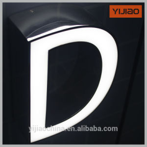 Frontlit Metal Logo Letters Acrylic Letter with LED Light pictures & photos