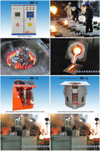 Dustless Induction Melting Furnace pictures & photos