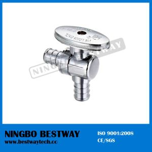 Brass Oval Knurled Handle Pex Angle Stop Valve (BW-A54) pictures & photos