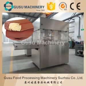 Tyj900mm Chocolate Enrober Machine with Cooling Tunnel pictures & photos