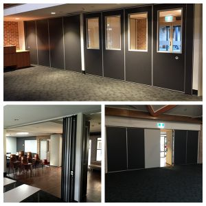 Operable Partition Walls for Muslim Prayer Rooms/Masjid/Mosque