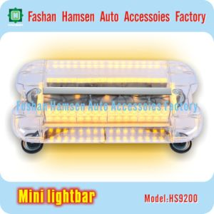 Double Row LED Emergency Amber Police Traffic Fire Warning Mini Lightbar