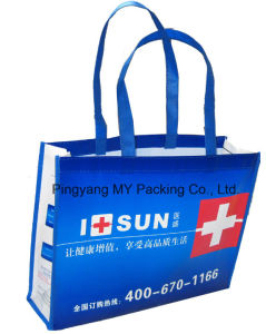 Heavy Duty Packaging Laminated PP Non Woven Promotion Bags pictures & photos