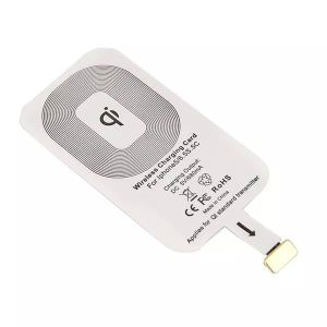 500-1000mAh Qi Wireless Charger Charging Card Receiver Kit for iPhone 5s