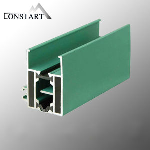 Constmart 5 Series L Shaped Door Frame Aluminum Extrusion pictures & photos