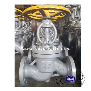 Water Flanged Wcb Globe Valve pictures & photos