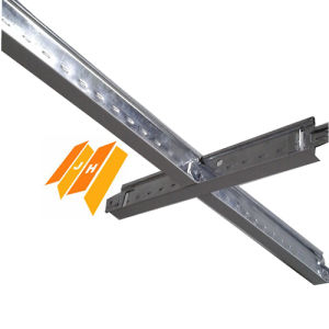Hot Dipped Glavanized Steel Frame Ceiling T Grid (T24, T15mm) pictures & photos