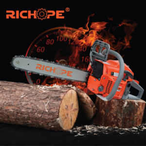 Gasoline Wood Cutting Chain Saw with CE CS5200 pictures & photos