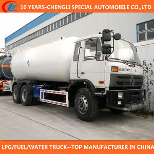 25cbm LPG Bobtail Truck 6X4 LPG Filling Truck for Sale pictures & photos