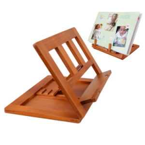 Wooden Laptop Book Holder Bookend Stand pictures & photos