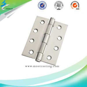 Investment Casting Plain Stainless Steel Hinges for OEM pictures & photos