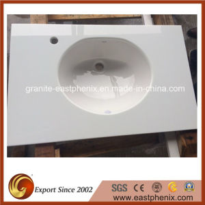 Modern Crystallized Glass Stone Sink for Bathroom/Kitchen