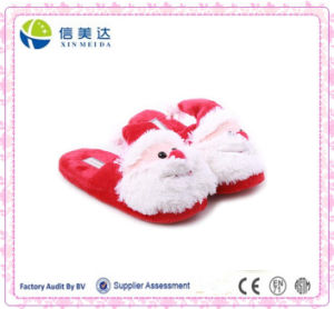 Wholesale Plush Lovely Santa Claus Slipper