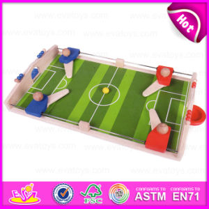 2015 Kids Indoor Mini Football/Soccer Board/Table Game for Promotional, Wholesale Wooden Mini Football Game Table Toy W01A087 pictures & photos