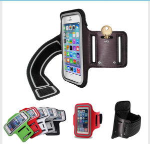 Anti-Slip Reflective Armband for Outdoor Sporting, Waterproof Case pictures & photos