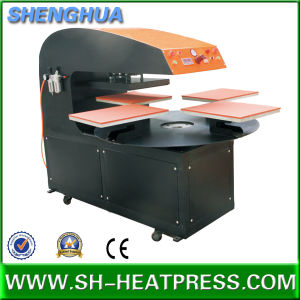 New Design Four Stations Heat Transfer Press Machine pictures & photos